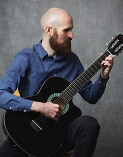 Tomás O'Durcain Classical Guitar & Ukulele Lessons Mezzo Music Academy