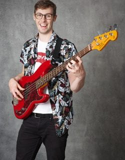Alan Daly Bass Guitar, Ukulele, Drums,Musicianship Mezzo Music Academy