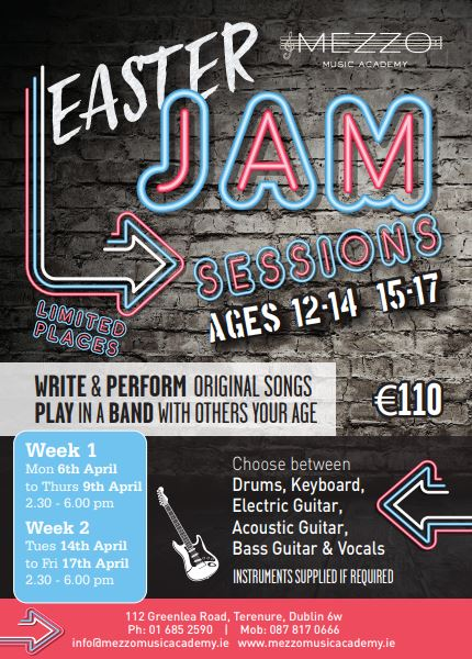 Easter Jam Sessions- Mezzo-Music-Academy
