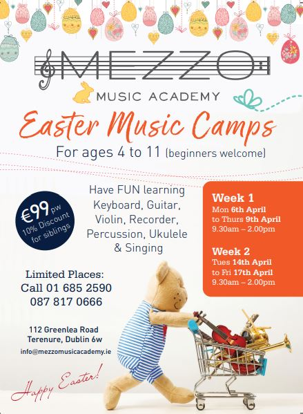 Easter Music Camps Mezzo Music Academy