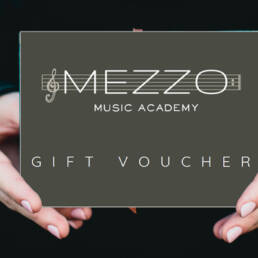 Give The Gift Of Music With A Mezzo Music Academy Gift Card